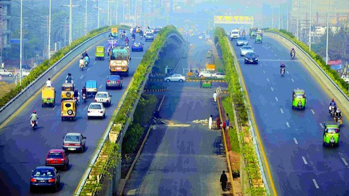 Why Ferozepur Road has an unfair location advantage?